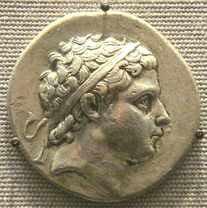 Prusias I of Bithynia - Tetradrachm of Prusias I (young)