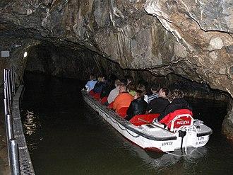 Punkva Caves - Image: Punkva lodicky