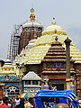 Puri Jagannath Temple on auspicious Janmastami.jpg