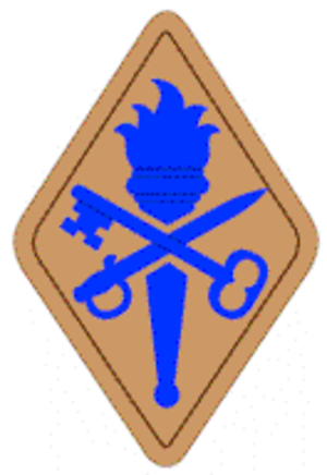 Quartermaster Center and School - Quartermaster School shoulder sleeve insignia