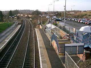 Dunfermline Queen Margaret railway station