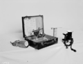 Queensland State Archives 1873 Dairy research Speedy moisture tester c1955.png