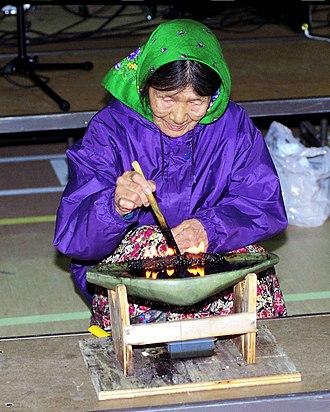 Inuit culture - Qulliq – lit to celebrate the creation of Nunavut Territory on April 1, 1999