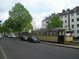 Merziger Straße in Düsseldorf
