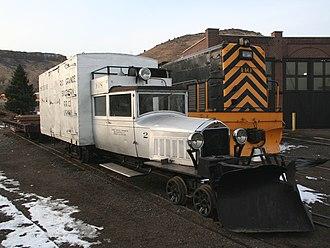 Colorado Railroad Museum - Rio Grande Southern Railroad Galloping Goose No.2
