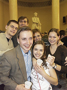 RIAN archive 153333 Students of Lomonosov Moscow State University celebrating Tatyana's Day.jpg