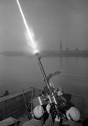 RIAN archive 594303 The anti-aircraft gun crew of Sergeant Fyodor Konoplyov shooting at enemy planes.jpg