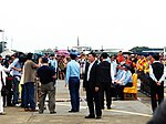 ROCAF Pilots Photoed with President Ma and Generals 20120811b.jpg