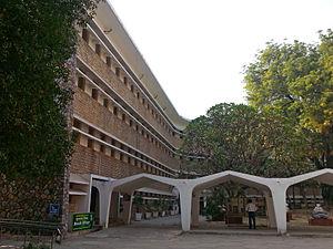 Sangeet Natak Akademi - Rabindra Bhawan, Delhi which houses the Sangeet Natak Akademi, Lalit Kala Akademi and Sahitya Akademi.