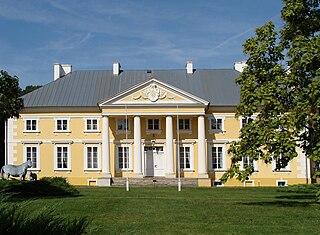 Racot Village in Greater Poland Voivodeship, Poland