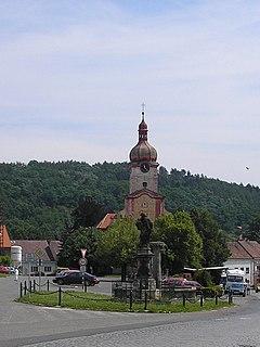 Radnice Town in Plzeň, Czech Republic