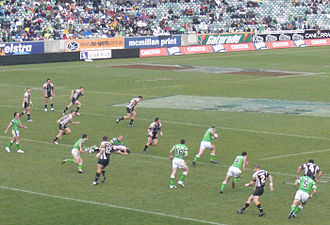 Rugby league in Australia - Wests Tigers vs Canberra Raiders, 2006