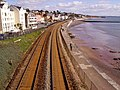 Railway along Dawlish Sea Wall - geograph.org.uk - 1263134.jpg