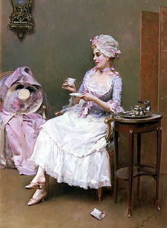 History of chocolate in Spain - Image: Raimundo Madrazo Hot Chocolate