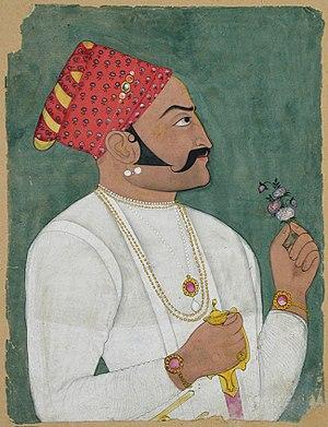 Raghogarh State - Raja Dhiraj Singh of Raghogarh (1697/1726).