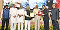 Ram Nath Kovind presenting the National Awards for Outstanding Services in the field of Prevention of Alcoholism and Substance (Drugs) Abuse (3).JPG