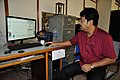 Ranabir Biswas Watches Indian Union Budget 2016-17 - Kolkata 2016-02-29 1301.JPG