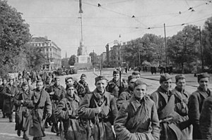 Red Army soldiers in Riga. October 1944.jpg