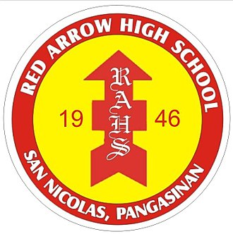 32nd Infantry Division (United States) - Red Arrow High School Logo in the Philippines