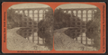 Reflection of Bridge in Canal, by George L. Washburn.png