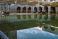Reflections, Imam (Shah) Mosque, Isfahan, Iran (14763897959).jpg