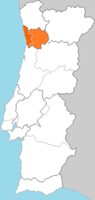 Douro Litoral Province - Former province of Douro Litoral