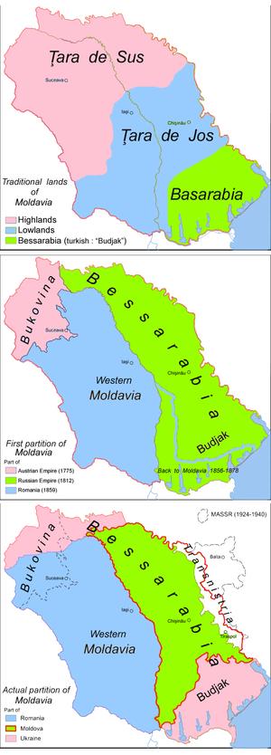 Bessarabia - Wikipedia, the free encyclopedia