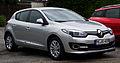 Renault Mégane Paris Deluxe ENERGY TCe 115 Start & Stop eco² (III, 2. Facelift) – Frontansicht, 13. Juli 2014, Ratingen.jpg
