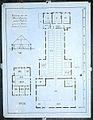 Reproductie van een bouwkundige tekening- Ontwerp van een Boerenhuizinge onder Goutum - voor het Sint Antonie-gasthuis te Leeuwarden - Goutum - 20496098 - RCE.jpg
