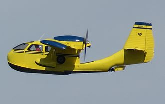Republic RC-3 Seabee - Republic RC-3 Seabee with gear retracted