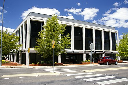 Reserve Bank of Australia in Canberra Reserve Bank of Australia - Canberra.jpg