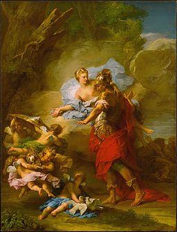 Restout - Venus Presenting Arms to Aeneas