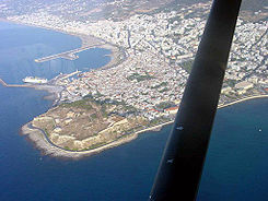 Rethymno venetian port and fort.jpg