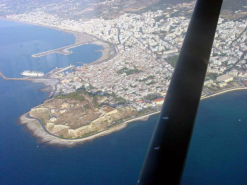 ファイル:Rethymno venetian port and fort.jpg