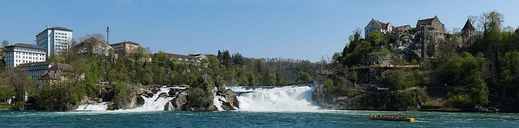 Rheinfall Panorama revised