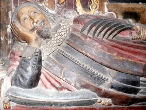 Richard Ferris - Richard Ferris, detail from his effigy in St Peter's Church, Barnstaple