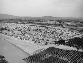 Richland, Washington - Richland during the early days of the Hanford project