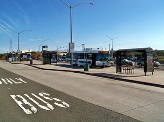 Richmond Parkway Transit Center - Image: Richmond parkway transit center 2