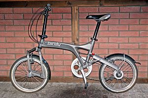 Birdy (bicycle) - Riese und Müller Birdy with Mark 2 frame