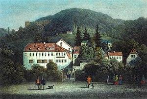 Corps Saxo-Borussia Heidelberg - Image: Riesenstein (Heidelberg)