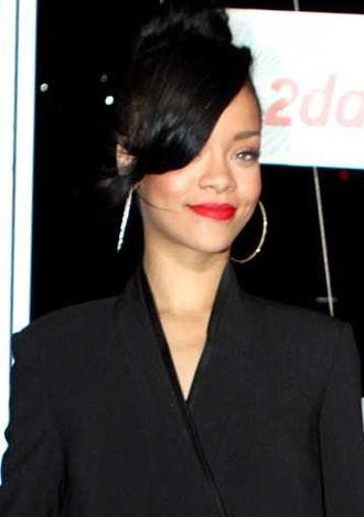 Deuces (song) - Critics speculated that the lyrics of the song were about Brown's former relationship with Rihanna (pictured).