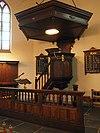 rijksmonument 30450 preekstoel hervormde kerk nieuwerkerk aan den ijssel