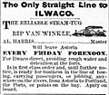 Rip Van Winkle ad DailyAstor 12 Jan 1879 p4.jpg