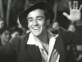 Vittorio Gassman - Vittorio Gassman in Bitter Rice (1948)