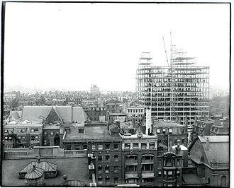 Taj Boston - The Ritz-Carlton under construction, September 7, 1926