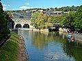 River Avon and Pultney Bridge, Bath - geograph.org.uk - 1057789.jpg