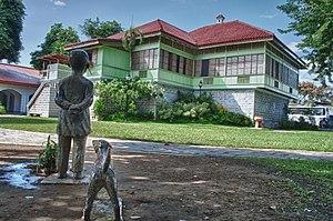 Calamba, Laguna - Image: Rizal Shrine Outdoor (Calamba, Laguna)