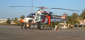 Eurocopter AS355 Écureuil 2 - Royal Malaysian Police Air Wing's Twin Squirrel.