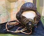 Roald Dahl's leather flying helmet.jpg