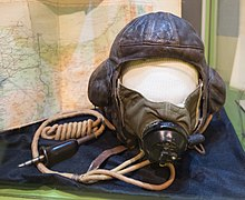 Dahl's flying helmet